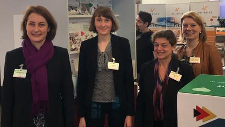 Gruppenbild mit Leonie Gäbers.