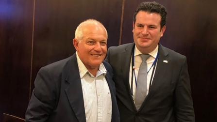 Bundesminister Heil trifft in Jerusalem seinen Counterpart Haim Katz.