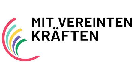 Logo � Mit vereinten Kräften�.
