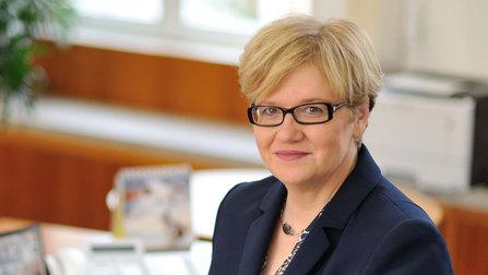 Parlamentarische Staatssekretärin Anette Kramme.