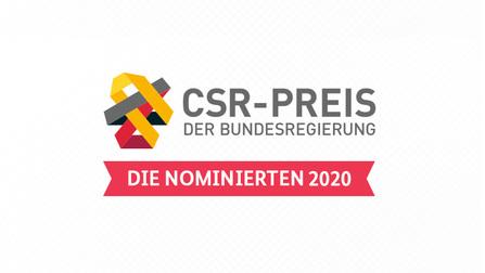 Logo des CSR Preises.