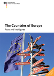Cover of the publication: The Countries of Europe Opens page: The Countries of Europe