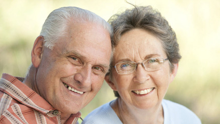 Older couple Opens page: Pensions