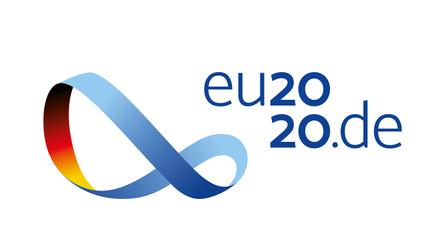 Logo mit Schriftzug eu2020.de