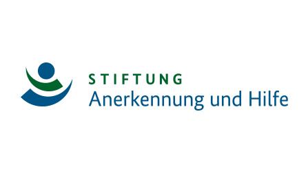 """Logo der Stiftung """"Anerkennung und Hilfe""""."""