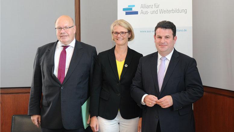 Partner der Allianz für Aus- und Weiterbildung richten ihre Ziele und Maßnahmen neu aus