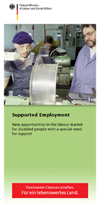 Miniaturansicht der Publikation Opens page: Supported Employment