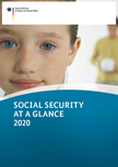 Cover of the publication. Opens page: Social Security at a Glance (englisch)