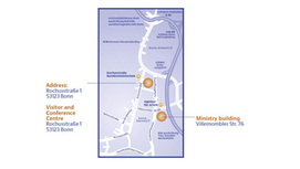 Bonn position plan Opens page: Adresses and how to get there (Bonn)