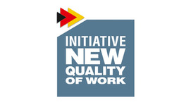 Logo Initiative New Quality of Work. Opens page: The New Quality of Work Initiative