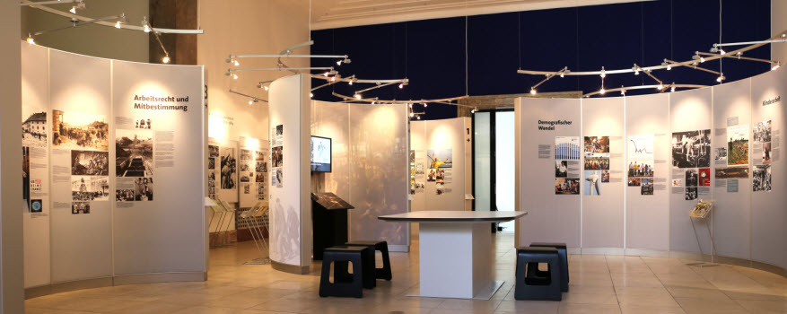 bmas exhibition on the history of social security in germany