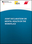 Titelbild Joint Declaration on the Mental Health in the Workplace Öffnet Seite: Joint Declaration on Mental Health in the Workplace