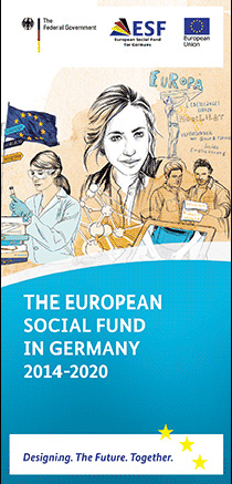 Cover of the publication: The European Social Fund in Germany 2014-2020
