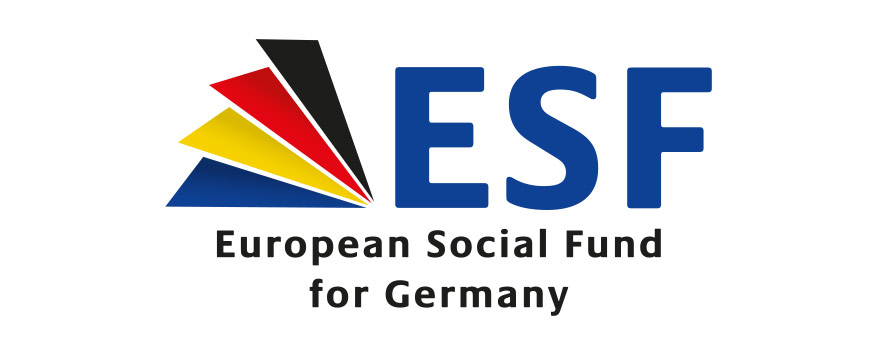 Logo of the European Social Fund (ESF)