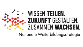 German logo of National Skills Strategy. Opens page: National Skills Strategy