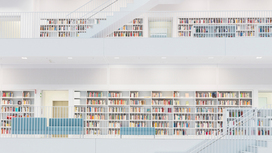 View of several levels of a library Opens page: European social policy: the legal framework