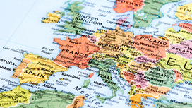 Part of a map of Europe Opens page: EU enlargement