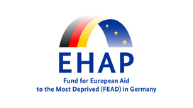 Icon of Ehap - Fund for European Aid to the Most Deprived (FEAD) in Germany. Opens page: Support means empowerment