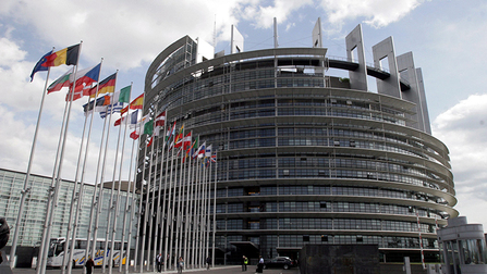 Exterior view of the european parliament Opens page: The European Employment Strategy
