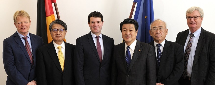 State Secretary Böhning meets Japanese State Minister Inatsu and the German and Japanese social partners